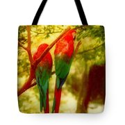New Orleans Polly Wants Two Crackers At New Orleans Louisiana Zoological Gardens  Tote Bag
