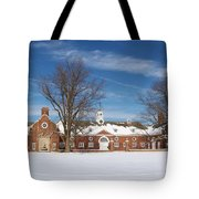 Polo Stables At Caumsett Tote Bag