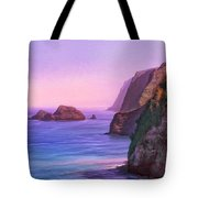Pololu Valley Sunset Tote Bag