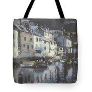 Polpero Cornwall England Tote Bag