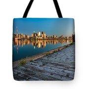 Polson Street Pier Tote Bag