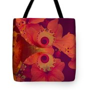 Polyanthus Spiral Tote Bag by Nancy Pauling