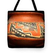 Polychrome Pottery 1100 Ad Tote Bag