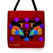 Polychrome Red Kimono Tote Bag