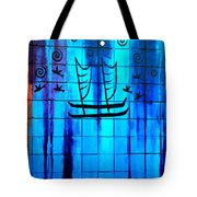 Polynesian Graffiti  Tote Bag by Karon Melillo DeVega