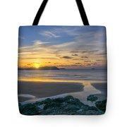 Polzeath Sunset 3 Tote Bag