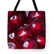 Pomegranate Closeup Tote Bag