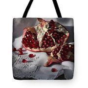 Pomegranate  Seed Tote Bag