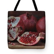 Pomegranate Seeds Tote Bag