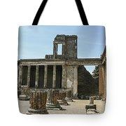 Pompeii 8 Tote Bag