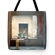 Pompeii Courtyard Tote Bag