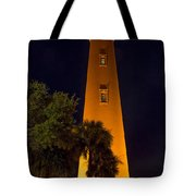 Ponce Inlet Lighthouse And Moon Tote Bag