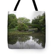 Pond And Bridge Tote Bag