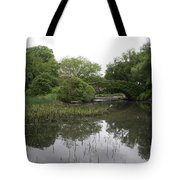 Pond And Bridge Tote Bag