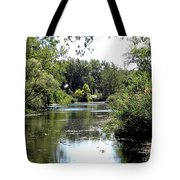 Pond At Tifft Nature Preserve Buffalo New York  Tote Bag