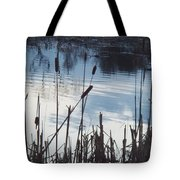 Pond At Twilight Tote Bag