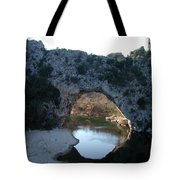 Pond Dark Ardeche France Tote Bag