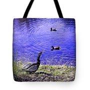 Pond Days Tote Bag