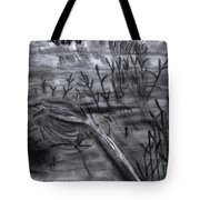 Pond Down The Road Tote Bag