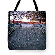 Pond Footbridge Tote Bag