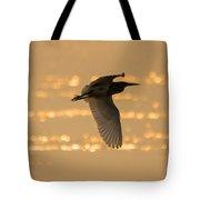 Pond Heron Tote Bag