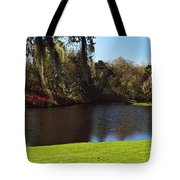Pond In A Garden, Middleton Place Tote Bag
