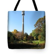 Autumn Colors At A Pond Tote Bag