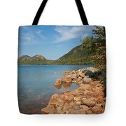 Pond In Maine Tote Bag