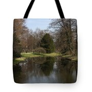 Pond In The Park Tote Bag