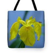 Pond Iris Tote Bag