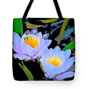 Pond Lily 17 Tote Bag