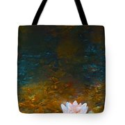 Pond Lily 27 Tote Bag