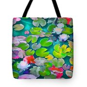 Pond Lily 5 Tote Bag