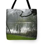 Pond Near Home Farm - Ilam Tote Bag