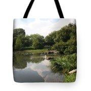 Pond Reflection - Central Park Tote Bag