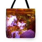 Pond Reflextions Tote Bag