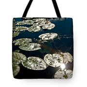 Pond Sunset Tote Bag