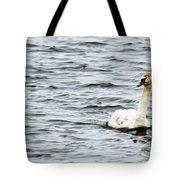 Pond Swan Tote Bag