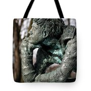 Pondering The Question Tote Bag by William Selander