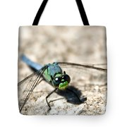 Pondhawk Upclose Tote Bag