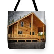 Pond's Cabin Tote Bag