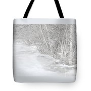 Pondside Thaw Tote Bag