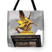 Pont Alexander IIi Fragment In Paris Tote Bag