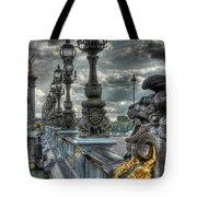 Pont Alexandre IIi  Tote Bag