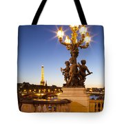 Pont Alexandre IIi - Paris Tote Bag