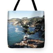 Pont Lobos Cove Tote Bag