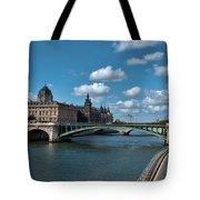 Pont Notre Dame Tote Bag