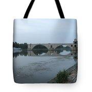 Pont Saint Benezet In The Eveninglight Tote Bag