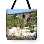 Pont St. Julien And River Tote Bag