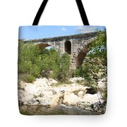 Pont St. Julien And River Tote Bag